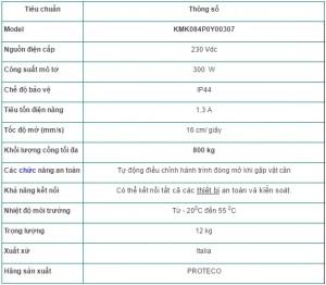Thong so cong truot 800kg